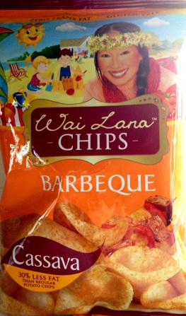 Wai Lana - Barbeque Cassava Chips