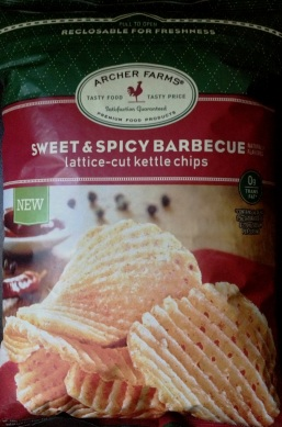 Archer Farms - Sweet & Spicy Barbecue Lattice Cut Kettle Chips