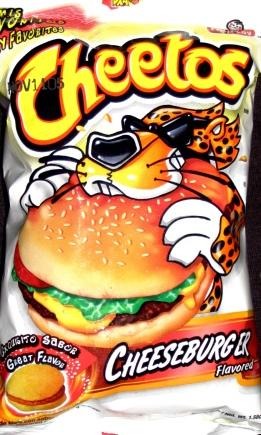 Cheetos Cheeseburger
