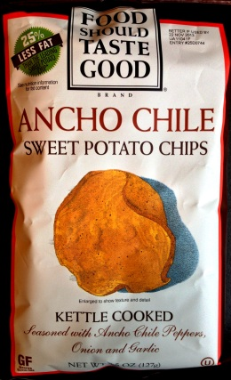 Food Should Taste Good - Ancho Chile Sweet Potato Chips