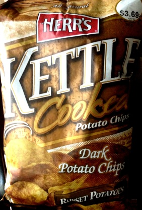 Herr's - Russet Potatoes Dark Kettle Cooked Potato Chips