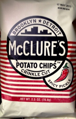 McClure's - Spicy Pickle Crinkle Cut Potato Chips