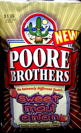Poore Brothers Sweet Maui Onion