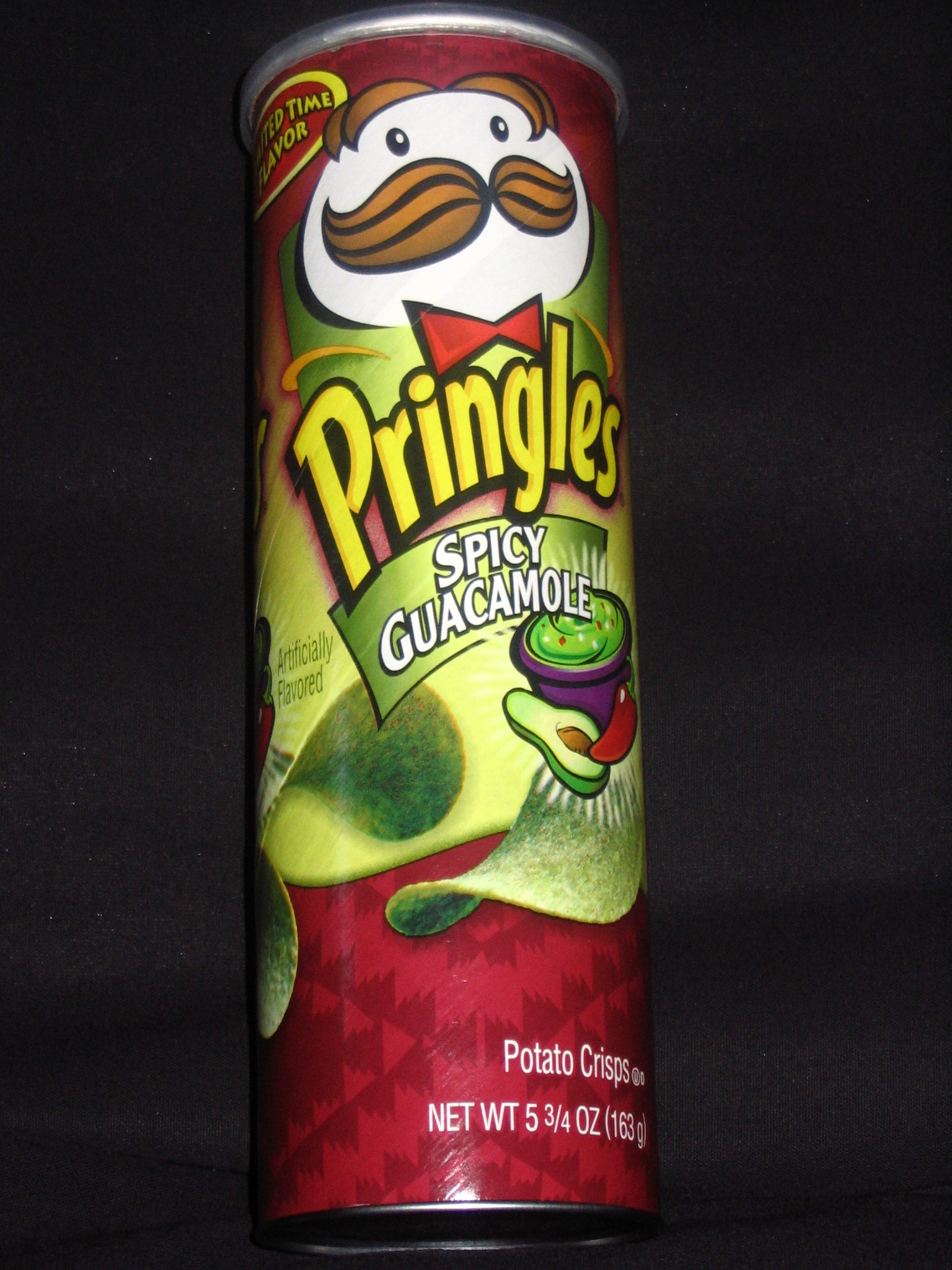 chip rating pringles spicy guacamole