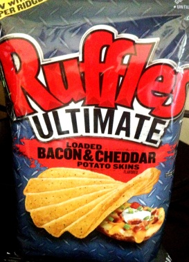 Ruffles Ultimate - Loaded Bacon & Cheddar Potatoskins