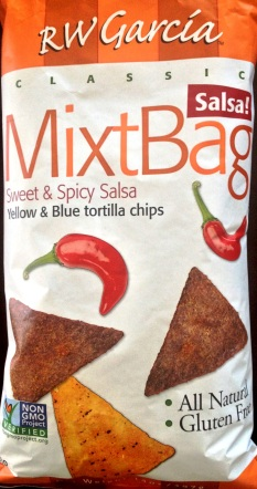 RW Garcia MixtBag - Sweet & Spicy Salsa Yellow & Blue Tortilla Chips
