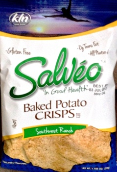 Salveo - Southwest Ranch Baked Potato Crisps