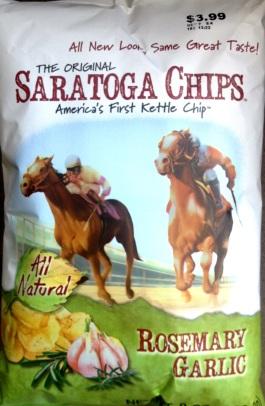 The Original Saratoga Chips - Rosemary Garlic