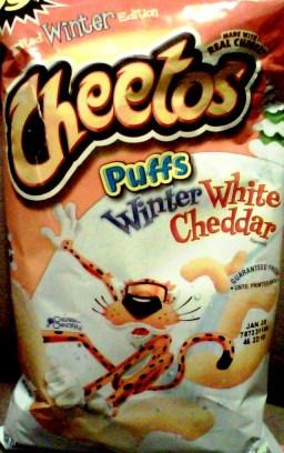 Cheetos - Winter White Cheddar Puffs