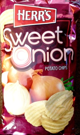 Herr's - Sweet Onion Potato Chips
