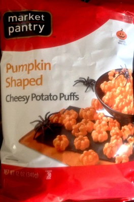Market Pantry - Pumpkin Shaped Potato Puffs