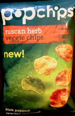 PopChips - Tuscan Herb Veggie Chips