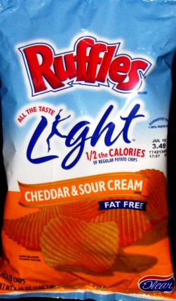 Ruffles Light Cheddar & Sour Cream