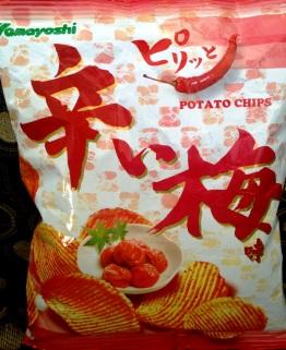 Yamayoshi - Sour Plum Potato Chips