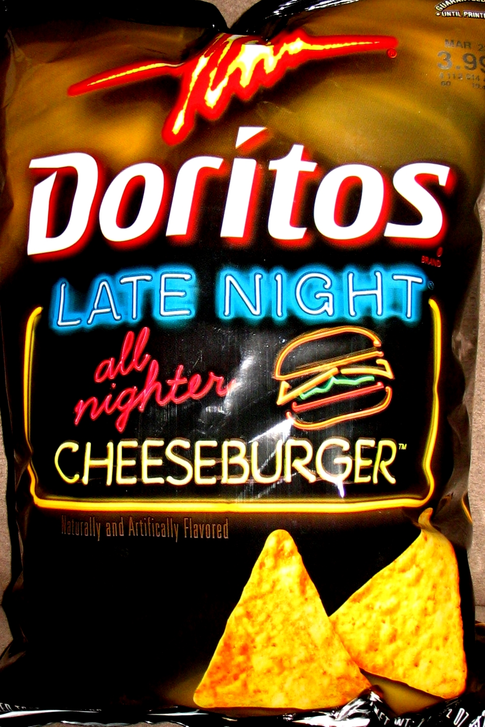 Doritos – All Nighter Cheeseburger | Chip Review
