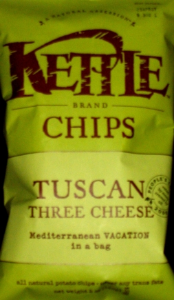 Kettle Chips Tuscan Three Cheese