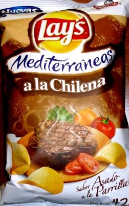 Lay's Meditteraneas - a la Chilean