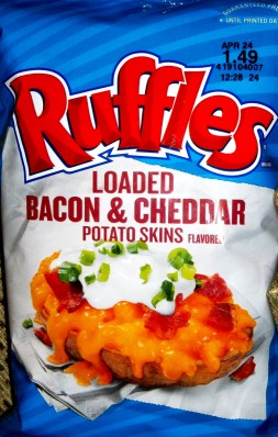 Ruffles - Loaded Bacon & Cheddar Potato Skins