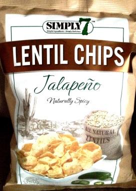Simply 7 - Jalapeno Lentil Chips