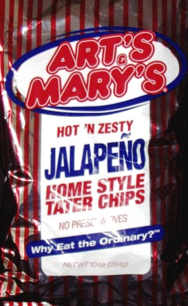 Art's & Mary's Hot & Zesty Jalapeno
