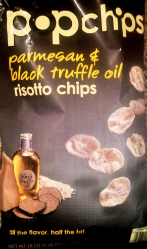 Popchips - Parmesan & Black Truffle Oil Risotto Chips