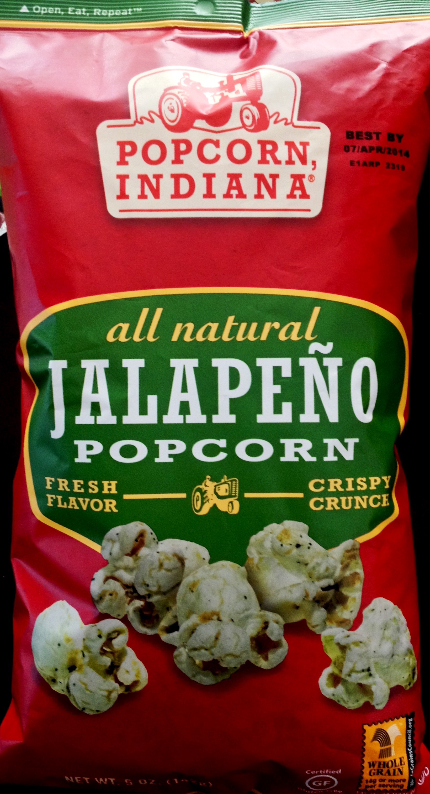 REVIEW: Popcorn, Indiana – Jalapeno Popcorn | Chip Review