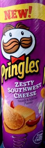 Pringles - Zesty Southwest Cheese