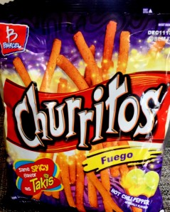 Review Barcel Churritos Fuego Hot Chili Pepper Chip