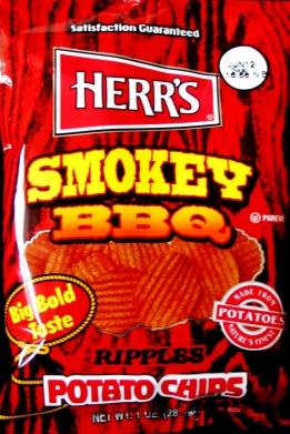 Herr's Smokey BBQ