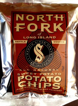 North Fork of Long Island - Sweet Potato Chips