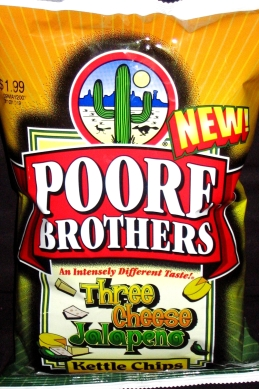 Poore Brothers Three Cheese Jalapeno