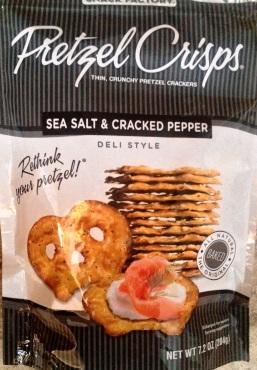 Pretzel Crisps - Sea Salt & Cracked Pepper