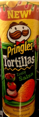 Pringles Tortillas - Zesty Salsa