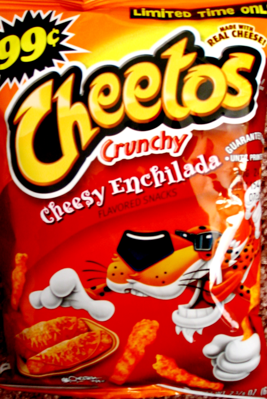 rating cheetos crunchy � cheesy enchilada chip review