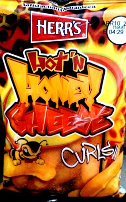 Herr's - Hot'N Honey Cheese Curls