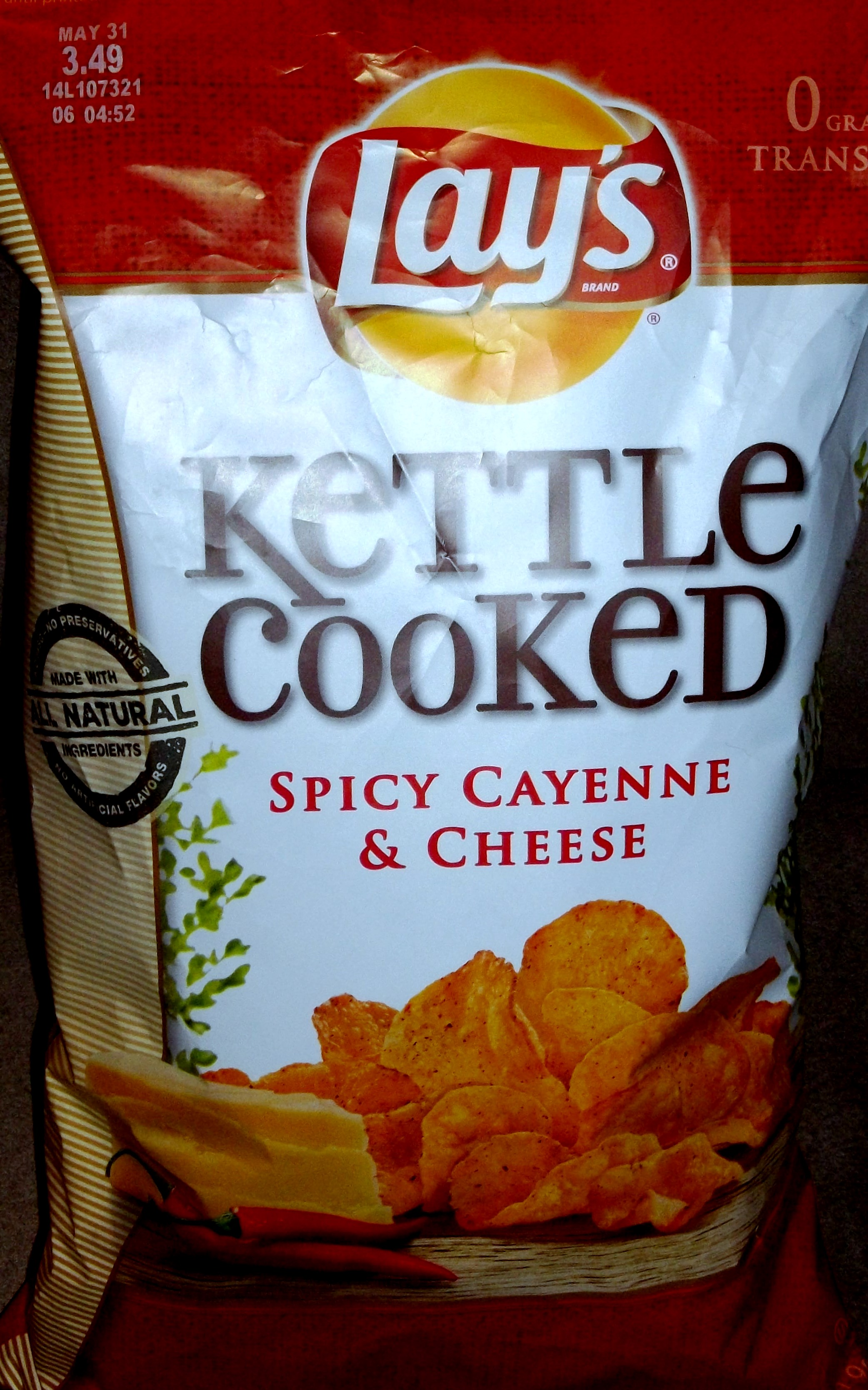RATING: Lay's Kettle...
