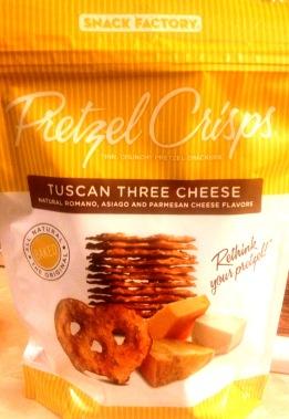 Pretzel Crisps - Tuscan Three Cheese