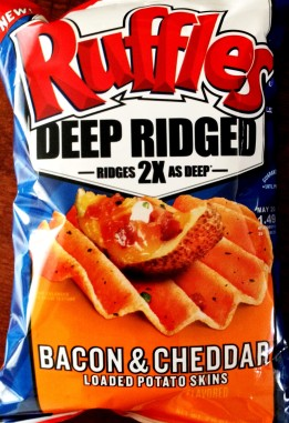 Ruffles Deep Ridged - Bacon & Cheddar Loaded Potato Skins