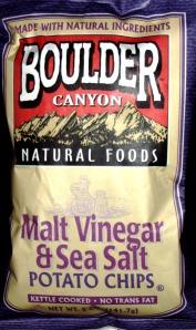 Rating Boulder Canyon Malt Vinegar Sea Salt Potato