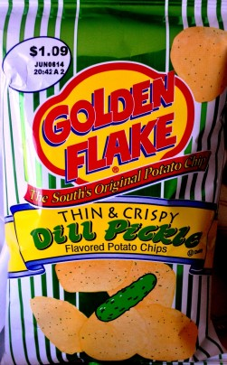 Golden Flake - Thin & Crispy Dill Pickle Potato Chips