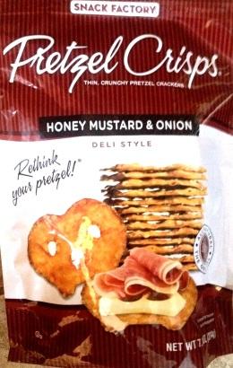 Pretzel Crisps - Honey Mustard & Onion