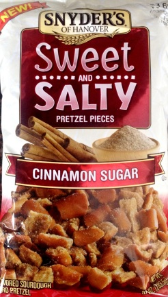 Snyder's of Hanover Sweet and Salty - Cinnamon Sugar
