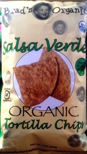 Brad's Organic - Salsa Verde Tortilla Chips