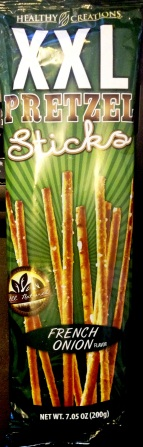 Healthy Creations - French Onion XXL Pretzel Sticks