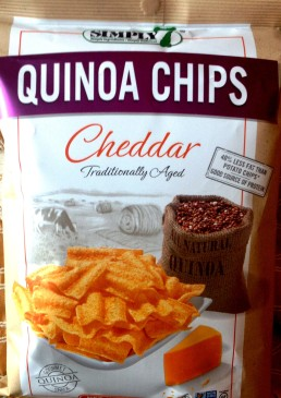 Simply 7 - Cheddar Quinoa Chips