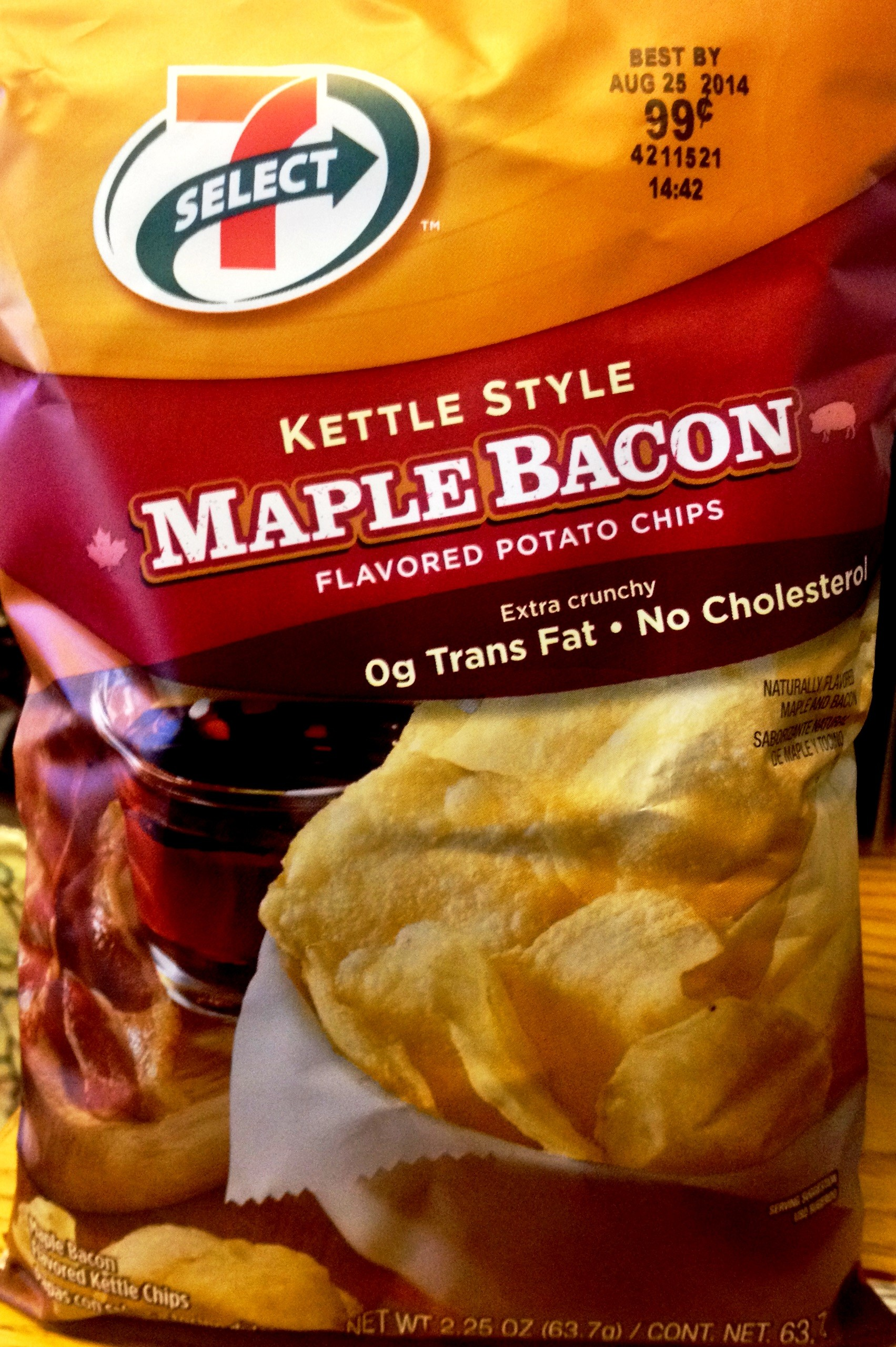REVIEW: 7 Select – Maple Bacon Potato Chips | Chip Review