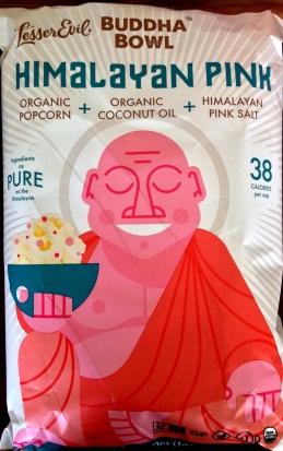Lesser Evil Buddha Bowl - Himalayan Pink Popcorn