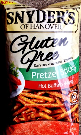 Snyder's of Hanover Gluten Free - Hot Buffalo Wing Pretzel Sticks