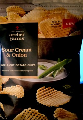 Archer Farms - Sour Cream & Onion Waffle-Cut Potato Chips