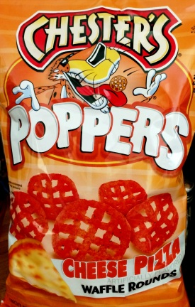 Chester's Poppers - Cheese Pizza Waffle
